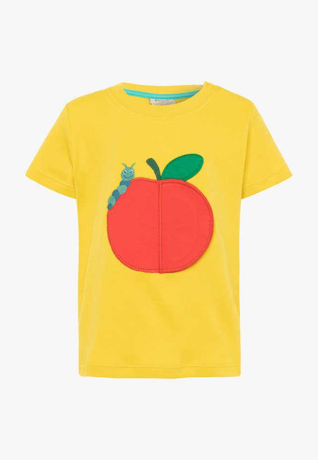 ORGANIC COTTON PLAYDATE APPLE BABY - T-Shirt print - sunflower