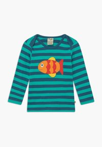 Frugi - ORGANIC COTTON 'BOBBY' FISH BABY - Top sdlouhým rukávem - green - 0