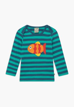 ORGANIC COTTON 'BOBBY' FISH BABY - Top s dlouhým rukávem - green