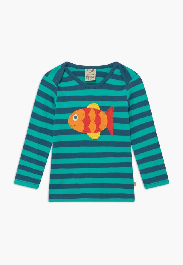 ORGANIC COTTON 'BOBBY' FISH BABY - Langarmshirt - green