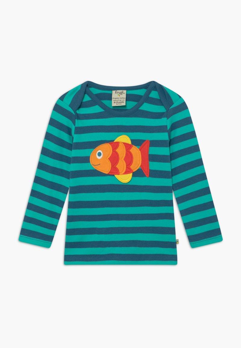 Frugi - ORGANIC COTTON 'BOBBY' FISH BABY - Top sdlouhým rukávem - green