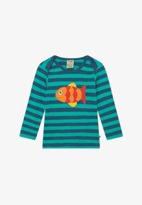 Frugi - ORGANIC COTTON 'BOBBY' FISH BABY - Top sdlouhým rukávem - green - 2