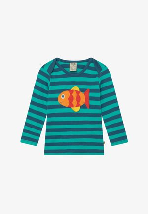 ORGANIC COTTON 'BOBBY' FISH BABY - Long sleeved top - green