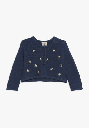 EMILIA EMBROIDERED BABY - Cardigan - space blue