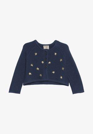 EMILIA EMBROIDERED BABY - Neuletakki - space blue