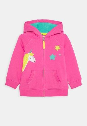 HARLEY HOODY - Mikina na zip - pink
