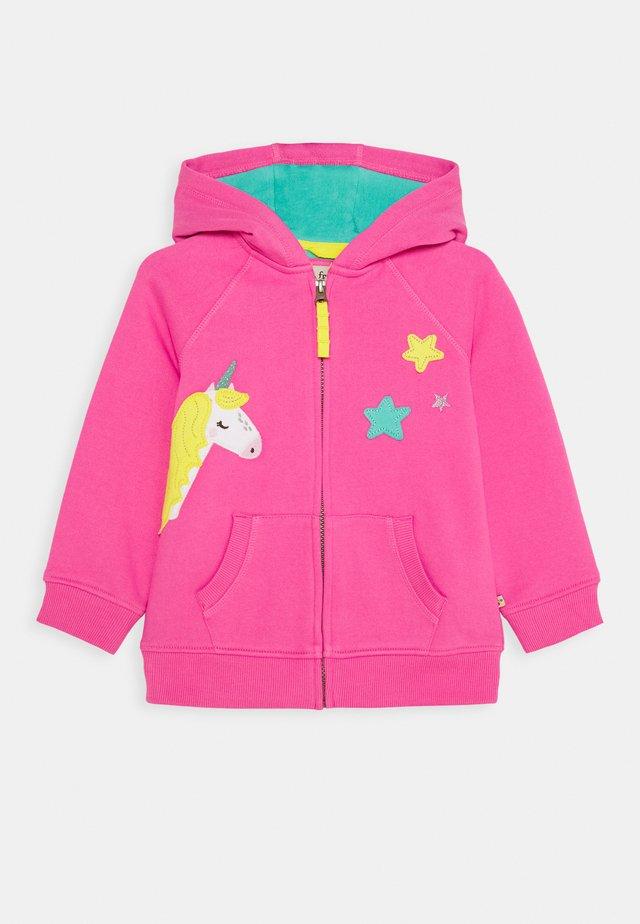 HARLEY HOODY - Bluza rozpinana - pink