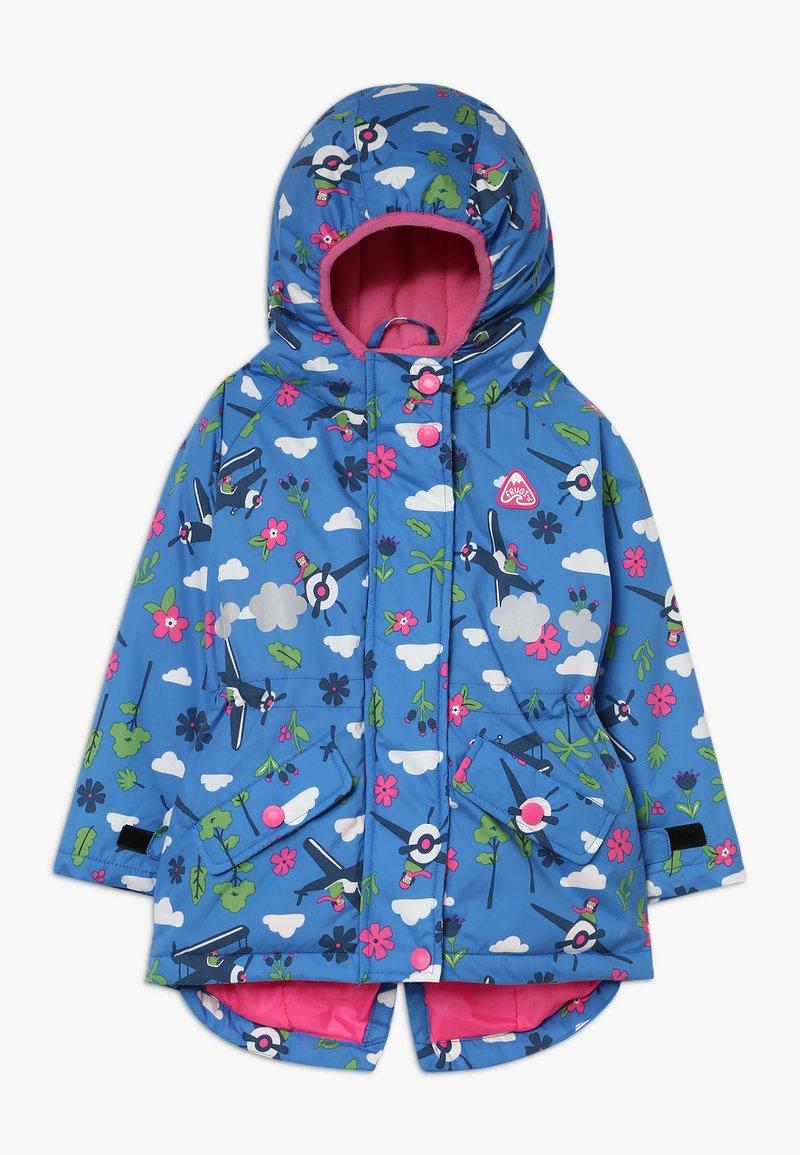 Frugi - EXPLORER WATERPROOF COAT - Waterproof jacket - sail blue