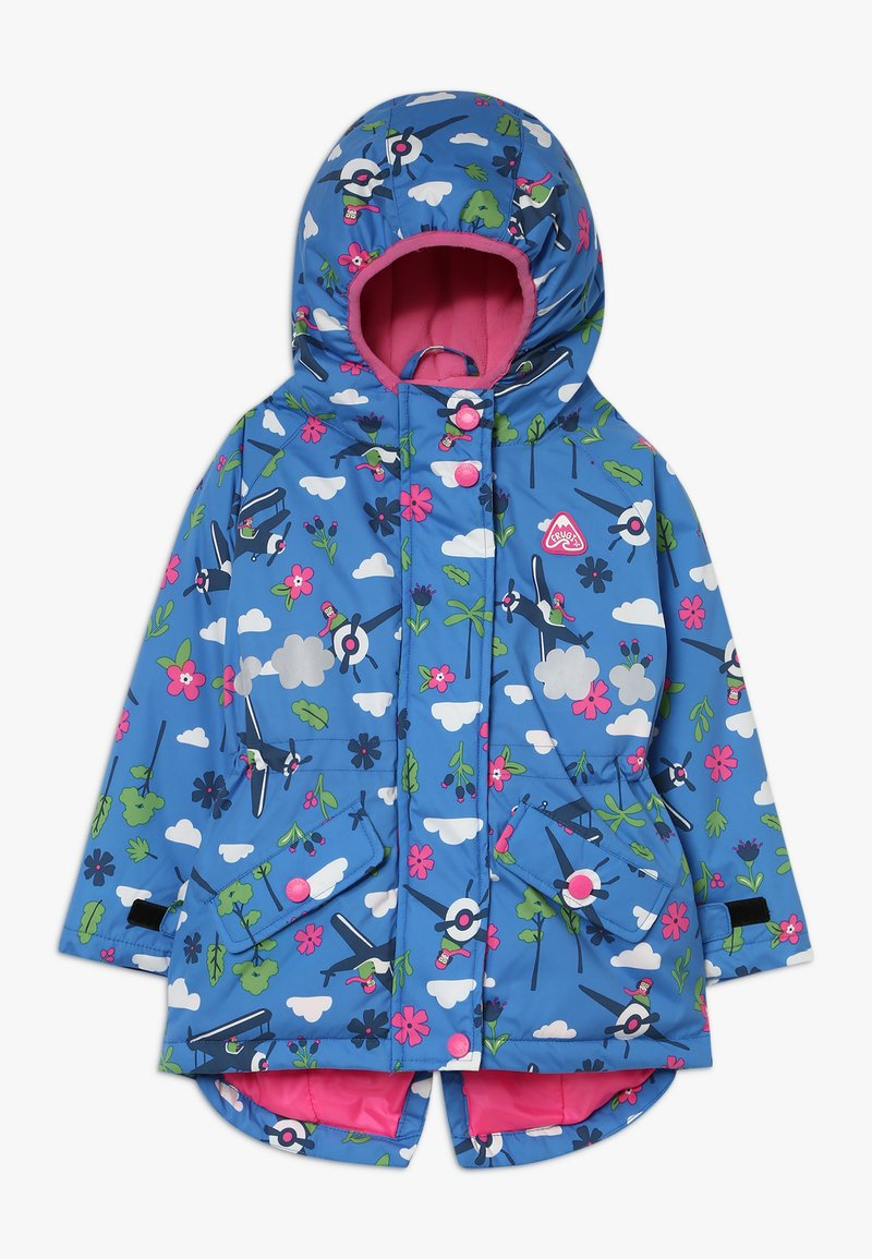 Frugi - EXPLORER WATERPROOF COAT - Impermeable - sail blue