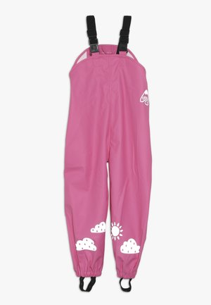 PUDDLE BUSTER TROUSERS - Hängselbyxor - flamingo
