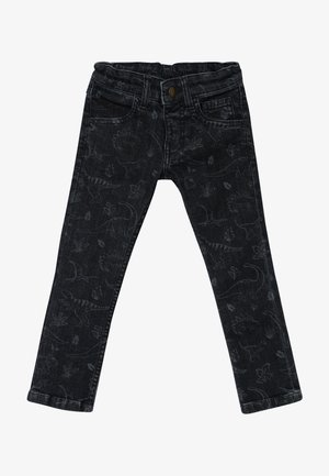 JORDAN PRINTED - Jean slim - denim
