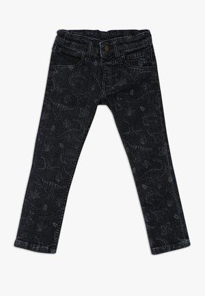 JORDAN PRINTED - Slim fit jeans - denim