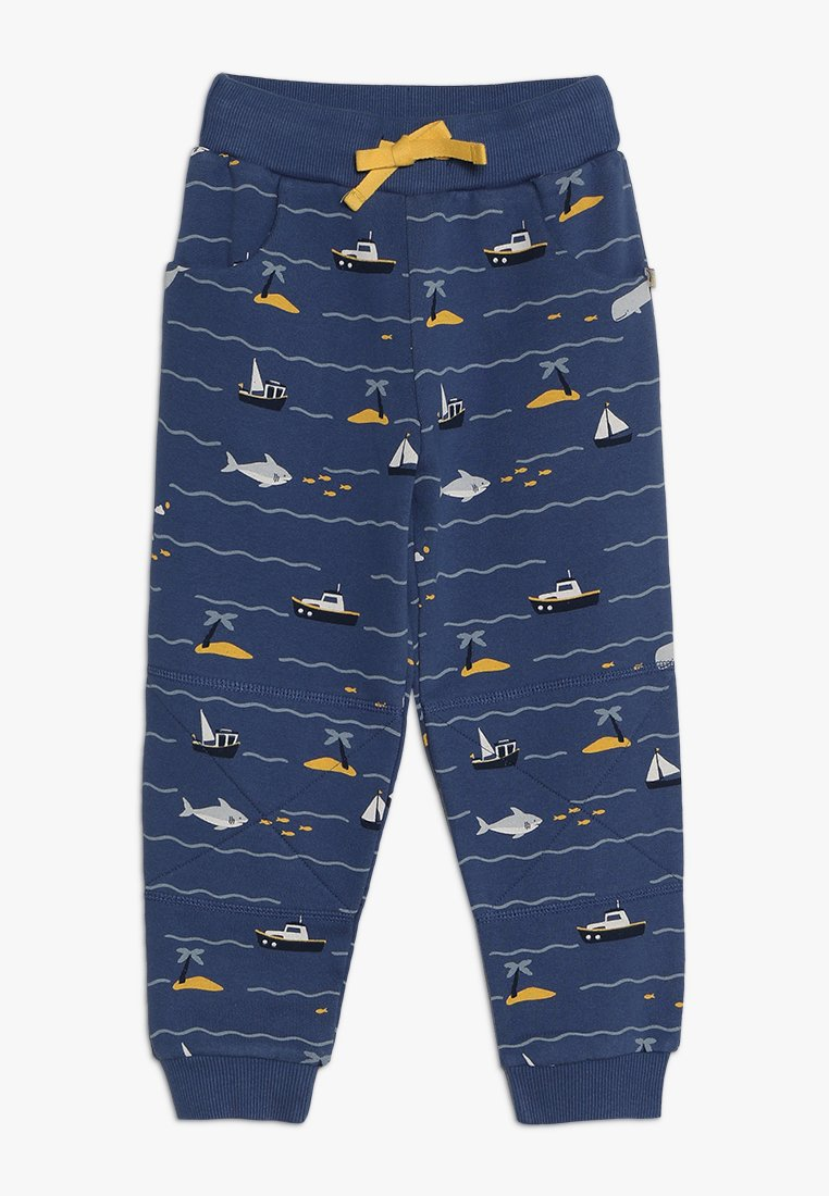 Frugi - KIDS PRINTED SNUG JOGGERS - Tracksuit bottoms - island hopping