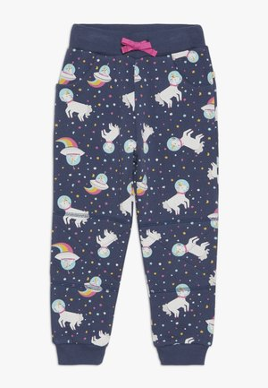 PRINTED SNUG JOGGERS - Trainingsbroek - space blue