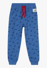 Frugi - PRINTED SNUG JOGGERS - Teplákové kalhoty - sail blue shoals - 0