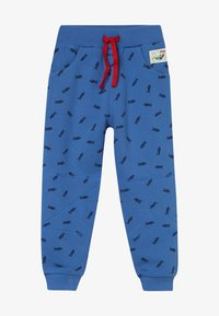 Frugi - PRINTED SNUG JOGGERS - Teplákové kalhoty - sail blue shoals - 2