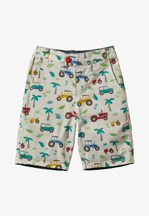 ZGREEN KIDS REUBEN REVERSIBLE  - Shorts - offwhite/multicolor