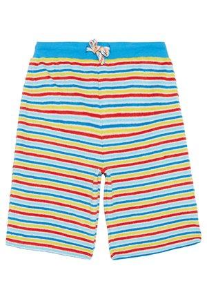 TOWELLING - Teplákové kalhoty - soft white/rainbow
