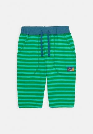 STRIPY  - Teplákové kalhoty - ribbit green