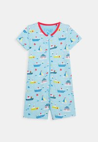 Frugi - REED ROMPER OVERALL BOATS - Sleep suit - sail the seas - 0
