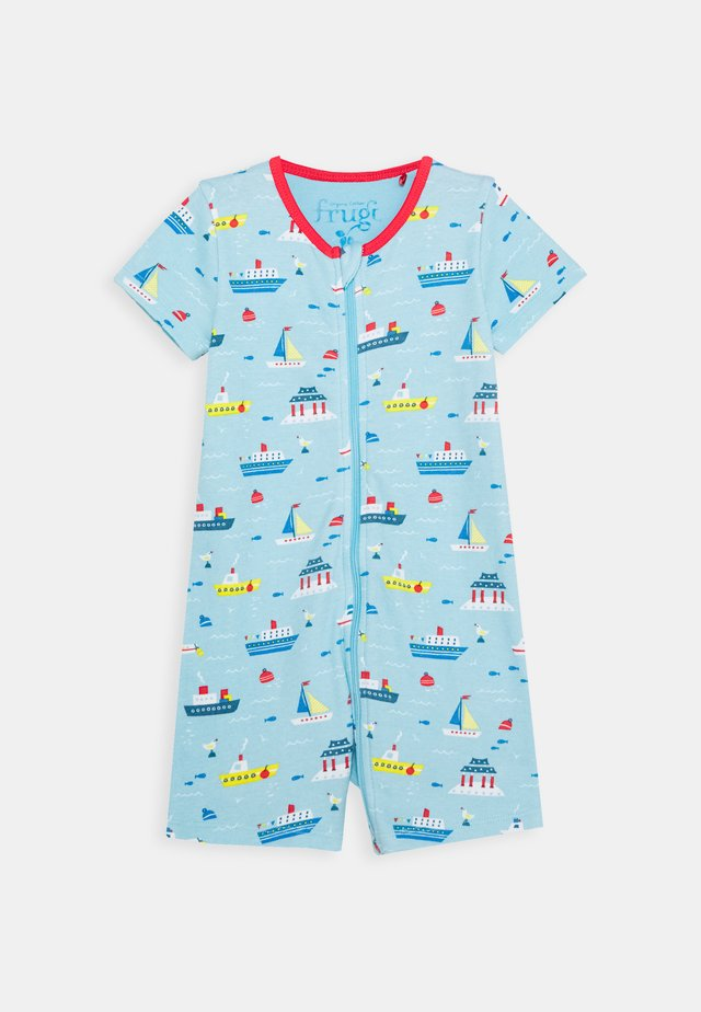 REED ROMPER OVERALL BOATS - Kruippakje - sail the seas