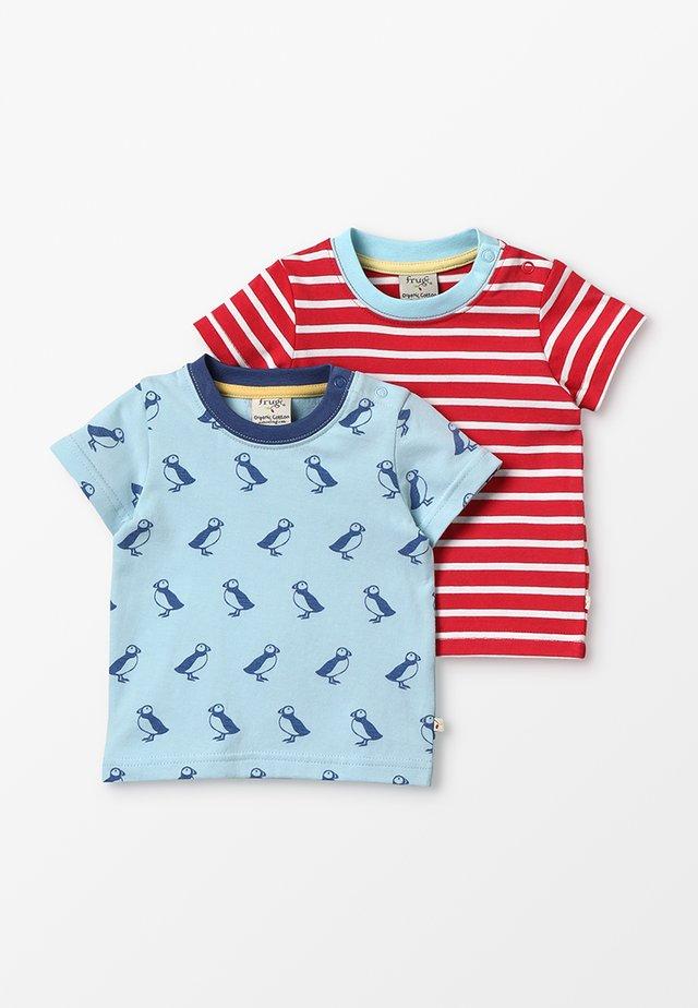 TRESCO 2 PACK - T-shirt print - multicolor