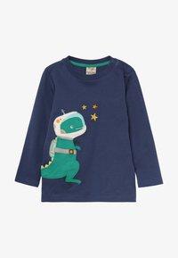 Frugi - JOE APPLIQUE - T-shirt à manches longues - space blue - 2