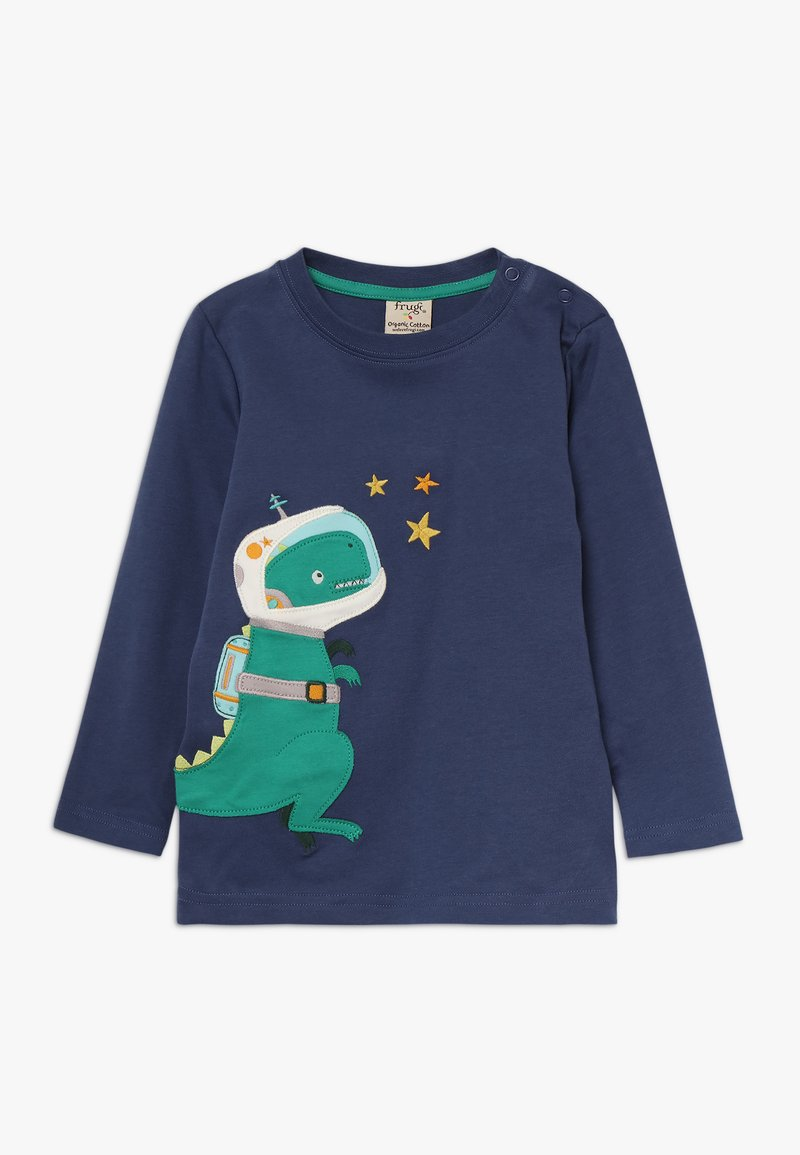 Frugi - JOE APPLIQUE - Langærmede T-shirts - space blue