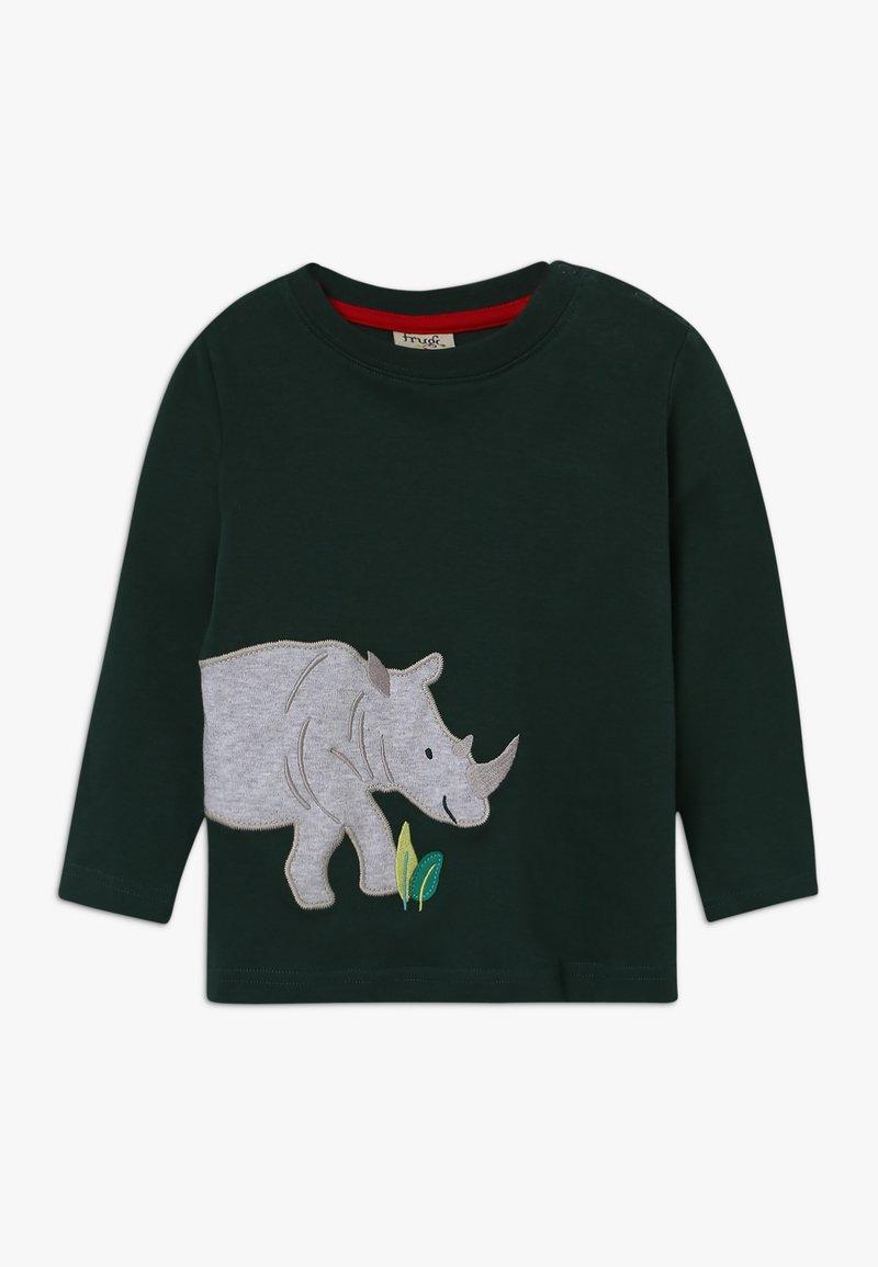Frugi - JOE APPLIQUE - Camiseta de manga larga - fir tree