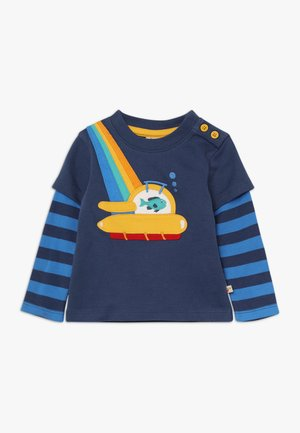 LEO LAYERED TEE BABY - Camiseta de manga larga - space blue