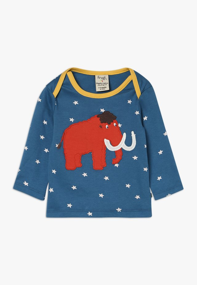 BOBBY APPLIQUE BABY - Langarmshirt - steely blue star