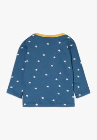 Frugi - BOBBY APPLIQUE BABY - Top sdlouhým rukávem - steely blue star - 1