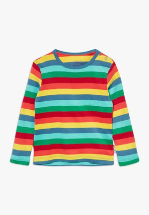 EVERYTHING RAINBOW LONG SLEEVE  - Top s dlouhým rukávem - steely blue
