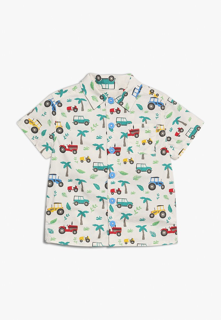 Frugi - KIDS HARVEY HAWAIIAN - Shirt - off white/multi coloured