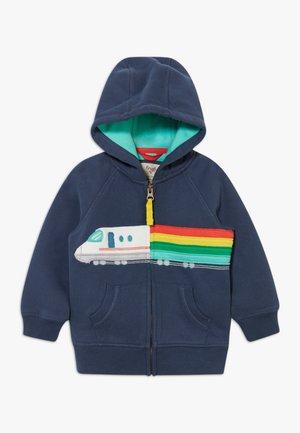 HAYLE HOODY TRAIN BABY - Mikina na zip - indigo