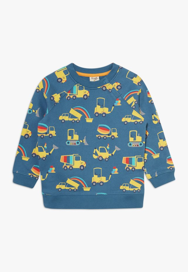 BRUSHBACK REX JUMPER DIGGER - Sweatshirt - dark blue