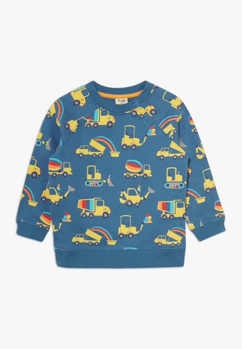 Frugi - BRUSHBACK REX JUMPER DIGGER - Sweater - dark blue