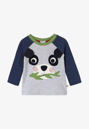 HAPPY RAGLAN BABY - Pitkähihainen paita - grey marl