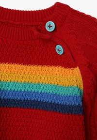 Frugi - CALEB CABLE JUMPER BABY - Strickpullover - tango red - 3