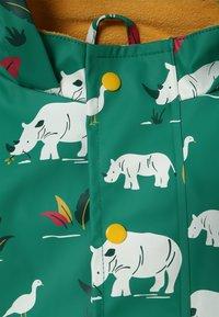 Frugi - PUDDLE BUSTER COAT - Waterproof jacket - green - 3