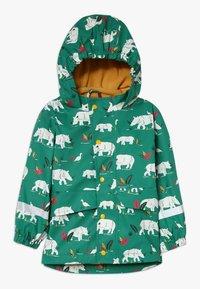 Frugi - PUDDLE BUSTER COAT - Waterproof jacket - green - 0