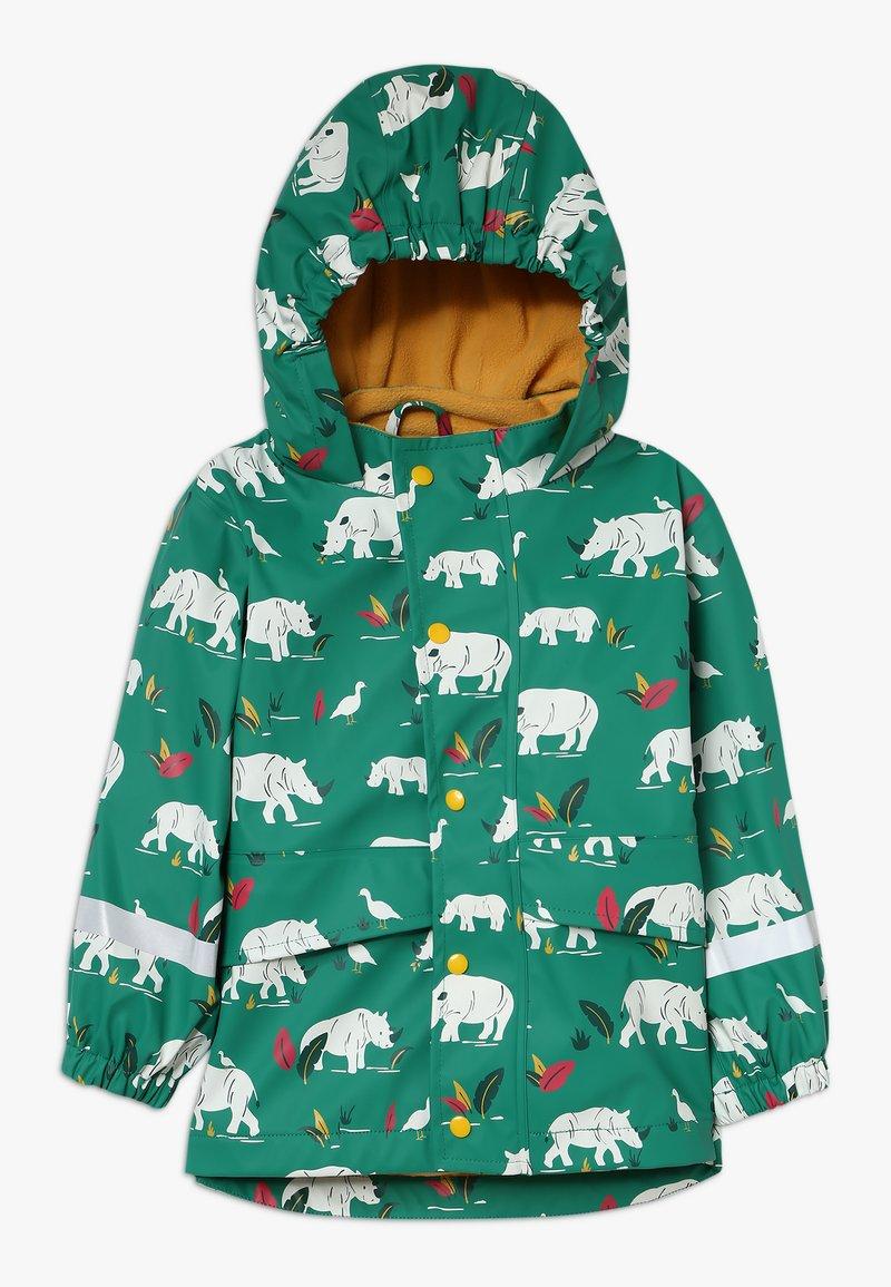 Frugi - PUDDLE BUSTER COAT - Waterproof jacket - green