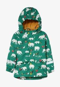 Frugi - PUDDLE BUSTER COAT - Waterproof jacket - green - 2