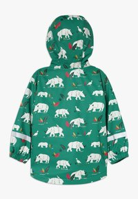 Frugi - PUDDLE BUSTER COAT - Waterproof jacket - green - 1