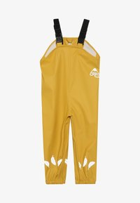 Frugi - RECYCLED FABRIC WATERPROOF TROUSERS 3000HH - Kalhoty - yellow - 2