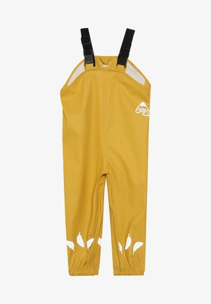 RECYCLED FABRIC WATERPROOF TROUSERS 3000HH - Spodnie materiałowe - yellow