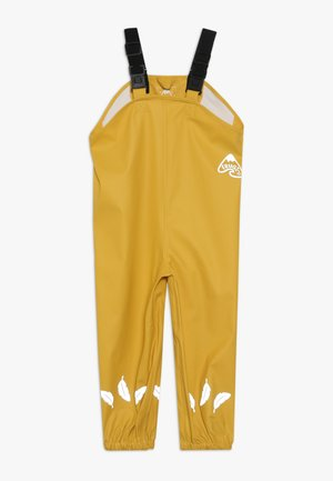 RECYCLED FABRIC WATERPROOF TROUSERS 3000HH - Trousers - yellow