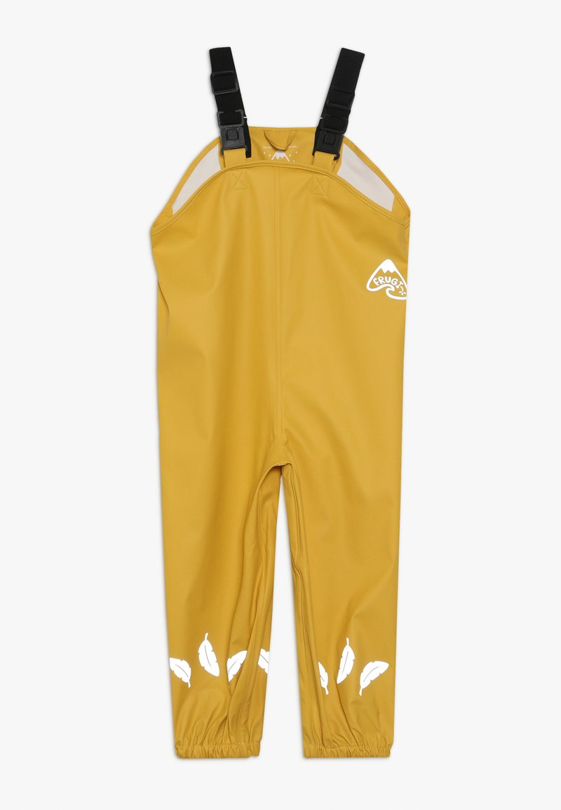 Frugi - RECYCLED FABRIC WATERPROOF TROUSERS 3000HH - Kalhoty - yellow