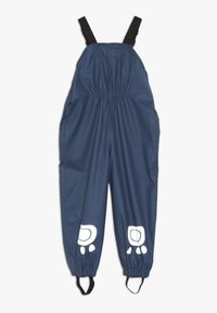 Frugi - RECYCLED FABRIC WATERPROOF TROUSERS 3000HH - Tygbyxor - space blue - 1
