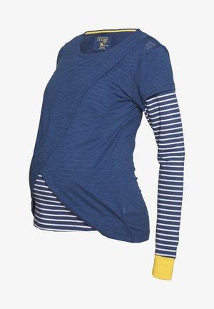 ERICA SWOOP NURSING - Langærmede T-shirts - space blue